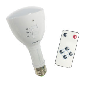 E27/B22 4W Emergency Rechargeable LED Bulb Light with Remote pictures & photos