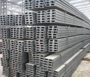Steel U Channel JIS Standard From China Tangshan Manufactutrer pictures & photos