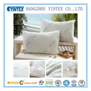 Newest OEM Natural High Quality Bamboo Memory Foam Pillows pictures & photos