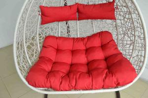 Patio Outdoor Aluminum Rattan Wicker Double Hanging Chair pictures & photos