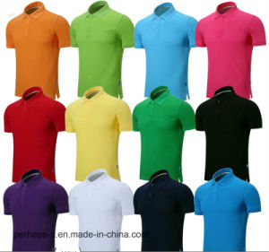 Wholesale Custom Unisex Cotton T-Shirt, Polo Shirt with Logo pictures & photos
