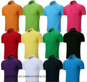 Wholesale Custom Unisex Cotton T-Shirt, Polo Shirt with Logo pictures & photos