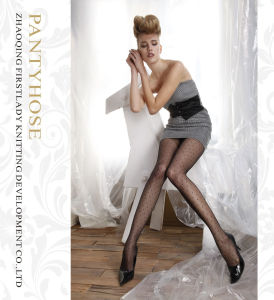 Hot Selling Women 50D Jacquard Sexy Pantyhose