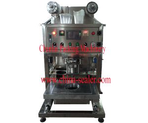 2015 Newdesktop Pneumatic Tray Sealing Machine ) pictures & photos