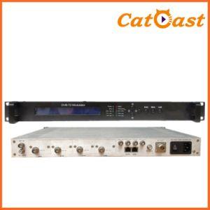 4 Asi Input Ports with RF Output DVB-T DVB-T2 Modulator pictures & photos