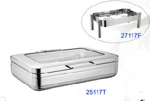 1/1 Size Induction Chafing Dish with 8.5L Food Pan (25117T) pictures & photos