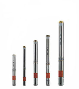 High Quality Deep Well Electric Stainless Steel Submersible Pump/Kh pictures & photos