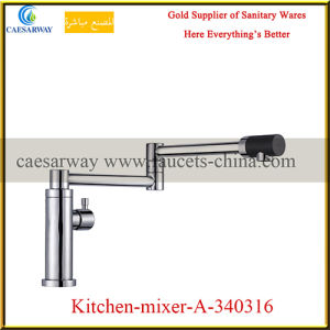 Single Lever Pull out Spray Kitchen Sink Tap pictures & photos