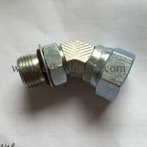 Male O-Ring to Female Pipe Swivel 45° Adapter 6902 pictures & photos