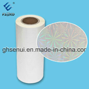 30 Micron Hologram Laminating Film Used for Box Decoration (BH1-30) pictures & photos