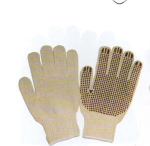 Cotton String Kint Gloves pictures & photos