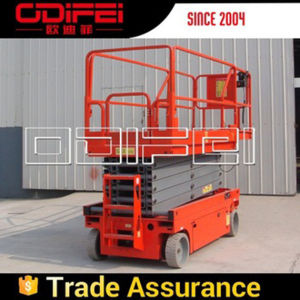 Self-Propelled Mobile Scissor Lifting Table