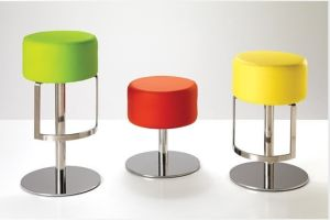 Round Seat Stainless Steel Ottoman pictures & photos