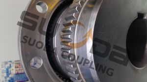 Giicl Gear Coupling with Intermediate Shaft High Transmission Efficiency Good Quality Professional Coupling Manufacturer Suoda Gdz Type pictures & photos