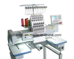 Single Head Desktop Tubular Cap Embroidery Machine (TLC-1201) pictures & photos
