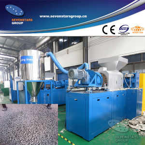 Waste Plastic Film Squeezing Drying Granulating Machine pictures & photos