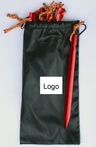 Carries Aluminum Stake Tent Pegs High Strength and Lightweight with Carry Bag pictures & photos