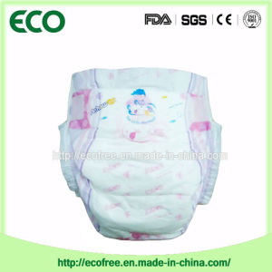 A grade Dry and Soft High Absorbency Disposable Baby Diaper pictures & photos