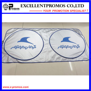Screen Printg Polyester Front Car Sunshade (EP-CS1013) pictures & photos