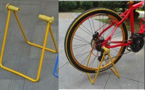 Blue Yellow Black Bike Parking Racks pictures & photos