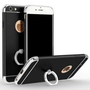 3 in 1 with Ring Standing Luxurious Mobile Cell Phone Case pictures & photos