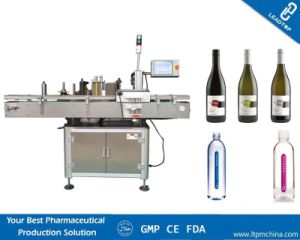 Single Side Round Glass Bottle Labeling Machine pictures & photos