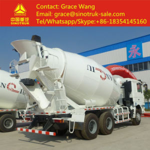 Sinotruk HOWO 6X4 6 - 16m3 Concrete Mixer Truck pictures & photos