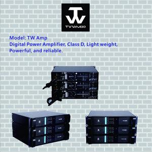 Best Digital 2 Channels 4 Channels Professional Power Amplifier