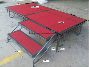 Wedding Portable Foldable Mobile Stage Whoelsale pictures & photos