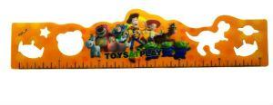 Custom Printed 3D Plastic Ruler 30cm pictures & photos