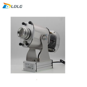 80W Rotating Image Projector Offer 10000 Lumens Glass Gobo 62mm Light Machine pictures & photos