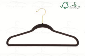 Ultra-Thin Non-Slip Velvet Hanger Clothes Hangers pictures & photos