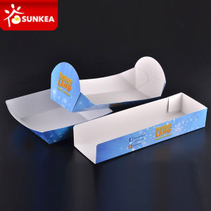 Printed Paper Fast Food Tray Packing pictures & photos