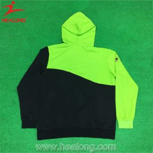 Healong Fashion Fluorescence Color with Right Chest Logo Warm Cotton Hoodies (Sweater) pictures & photos