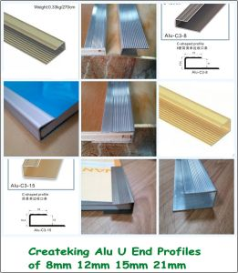 Ck Rose Golden 12mm Flooring End Profiles pictures & photos