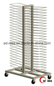 Rotatable Gondola Display Stand / Display with Casters (DG-12) pictures & photos