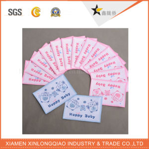Custom Clothing Sticker Custom Printing Cloth Garment Clothes Woven Label pictures & photos