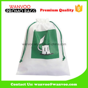 Most Popular Best Sell Polyester Drawstring Bag for Laundry pictures & photos