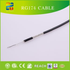 Low Loss Rg174 RF Coaxial Cable with PTFE pictures & photos