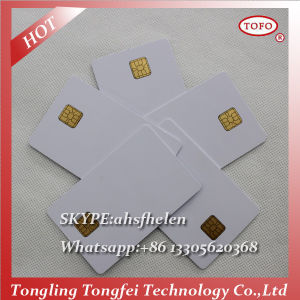 China 5528 Chip Contact Card Manufacturer pictures & photos