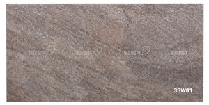 Ceramic Rustic Stone Granite Exterior Tiles for Wall (300X600mm)