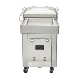 Double Chambers Vacuum Nitrogen Flushing Vacuum Packing Machine pictures & photos