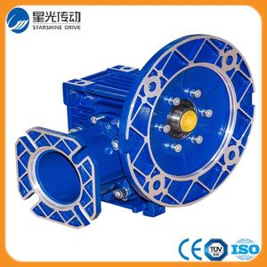 Nmrv050-30-71b5 Blue Color Worm Geared Motor pictures & photos