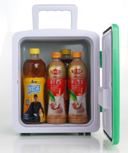 Electronic Mini Fridge 8liter DC12V, AC100-240V with Cooling and Warming for Car, Office or Home Use pictures & photos