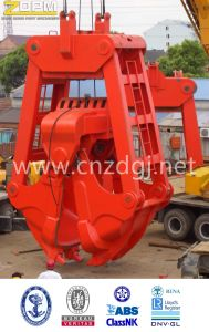 25ton Load Capacity Clamshell Mechanical Dredging Grab pictures & photos