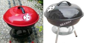 Wholesale BBQ Cook Kettle Grill for Camping pictures & photos