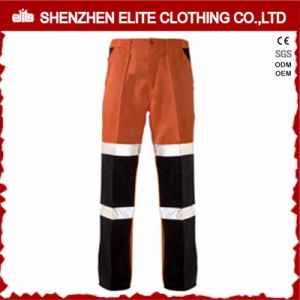 Custom Safety Women′s Cargo Work Pants with Elastic Waist pictures & photos