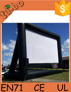 Gaint Inflatable Outdoor Movie Theater Screen for Inflatable Projector Screen