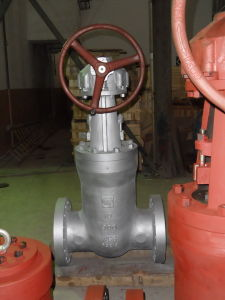 API Cast Steel Flanged Gate Valve pictures & photos