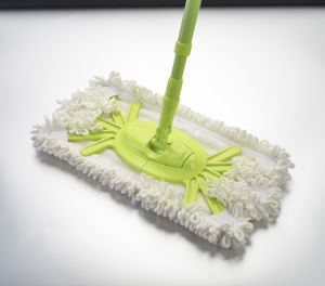 Telescopic Handle Feather Flat Mop (1024) pictures & photos